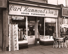 Carl Hammond and Co shop, Kingston Upon Hull.