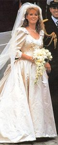 Sarah Ferguson 1986 Wedding Dress