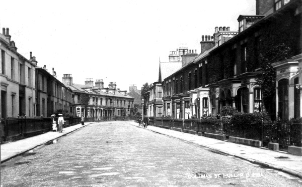 Coltman Street Hull 1905. Carnegie Heritage Centre. Hull.