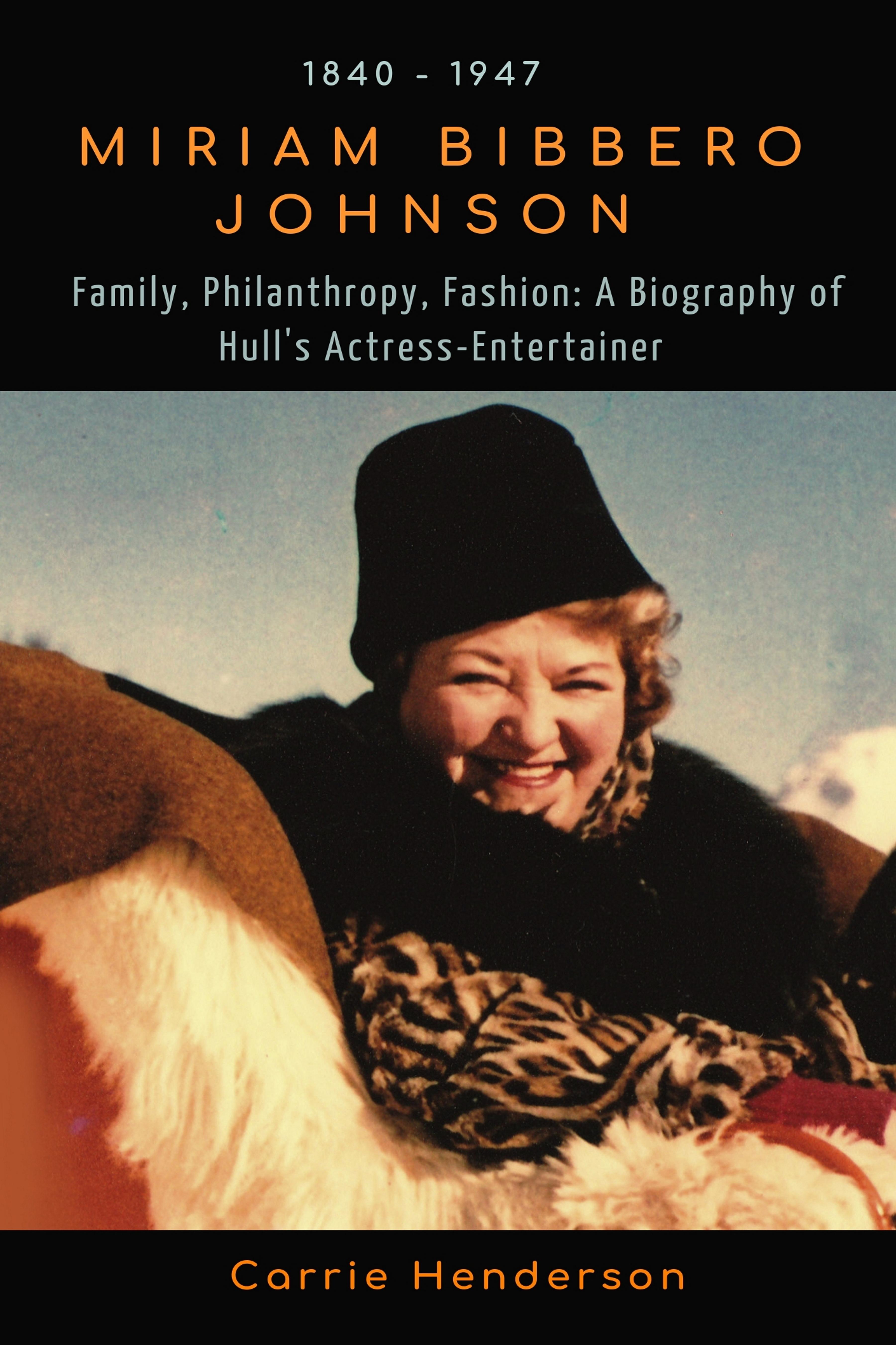 Miriam Bibbero Johnson Front Cover Biography houseofmirelle.uk