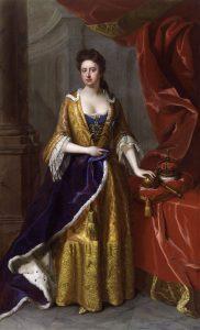 Portrait of Queen Anne 1705 by Michael Dahl