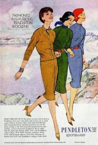 fashion illustration daywear 1959 houseofmirelle.uk