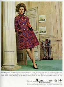 1968 Acquascutum coat British Advert houseofmirelle.uk