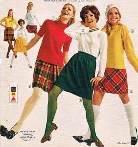 teen fashions 1969