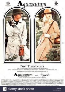 1976 Acquascutum Advert houseofmirelle.uk