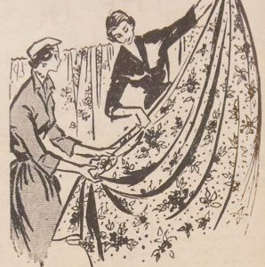 April 1959 Cooperative Society Hull Fabric Department Advert