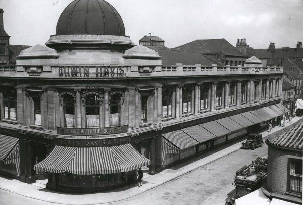 Original Edwin Davis Building Bond Street Hull houseofmirelle.uk