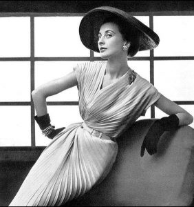 Nina Ricci Dress 1952 houseofmirelle.uk