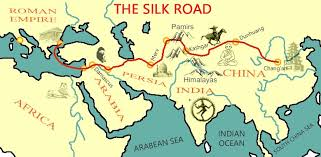 The Silk Road Map Houseofmirelle.uk