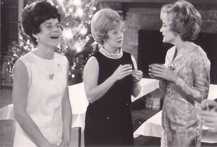 1960s shift dresses at Christmas