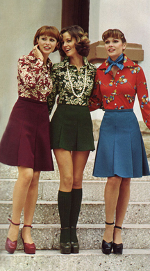 Before the Xmas Sweater in the 1970s there was this Christmas Fashion