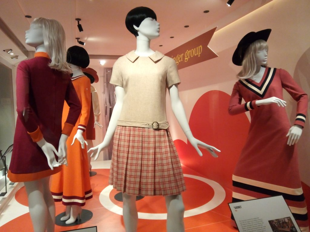 1963 Sardine dress 1966 Dress With Pleated Skirt Mary Quant