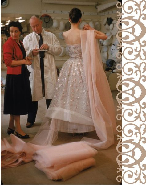Dior helps to finish a design with Workroom hands houseofmirelle.uk