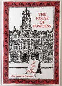 Book Cover House of Powolny Life and Death of a Hull Restaurant Book