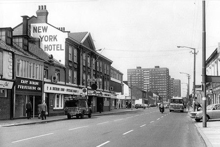 New York Hotel on Anlaby Road Hull circa 1960s