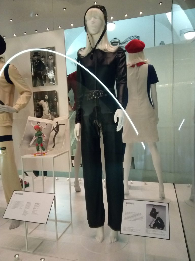 1969 X Certificate PVC catsuit Mary Quant